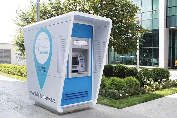 ATM Telenor Bank Belgrad
