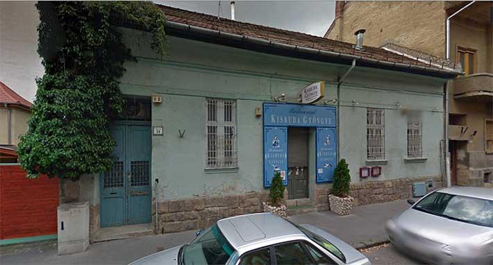 Kisbuda Gyöngye Restoran Budapeşte