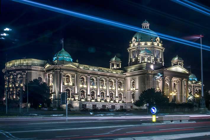 Parlamento Binası - Sırbistan Millet Meclisi