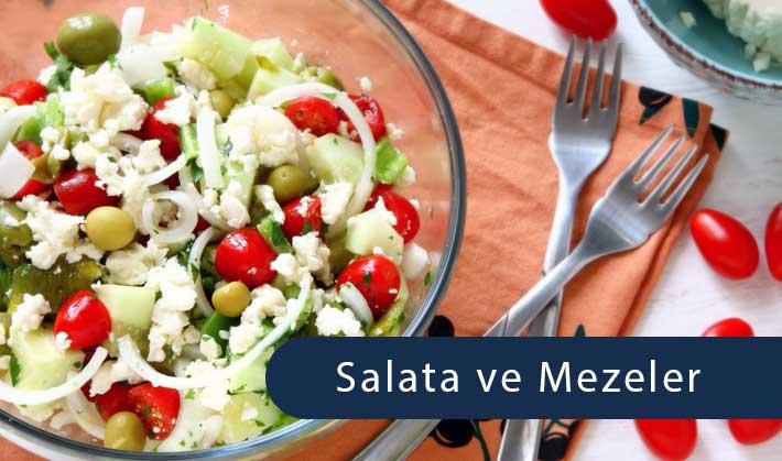 Salata ve Mezeler - Nerede Yenir