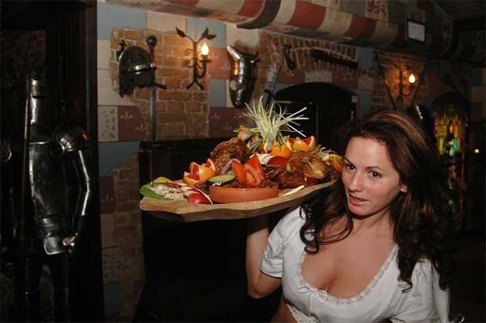 Sir Lancelot Restoran Budapeşte