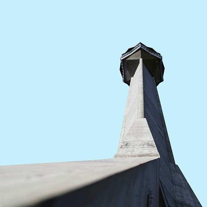 Avala Kulesi - mimari yapılar
