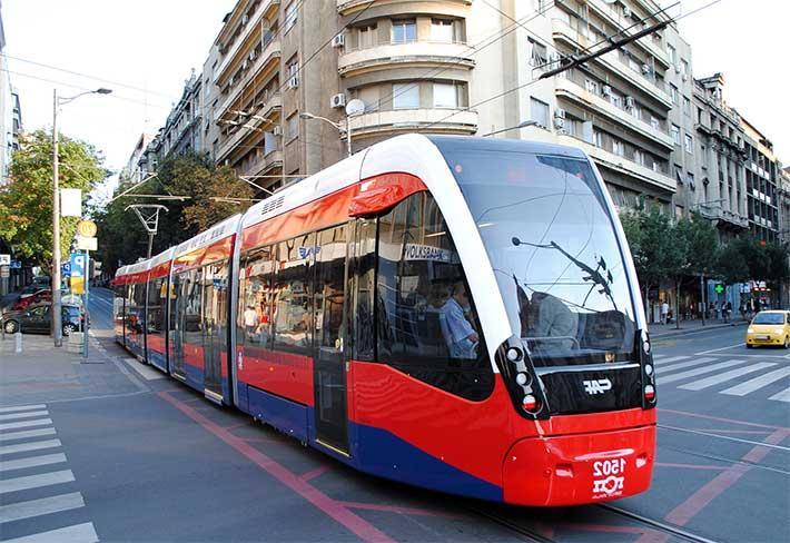 belgrad ulasim tramvay