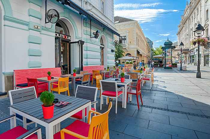 Boutique Kafe Bar ve Restoran, Kneza Mihailova, Belgrad