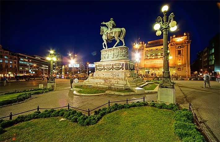 Cumhuriyet Meydani Belgrad