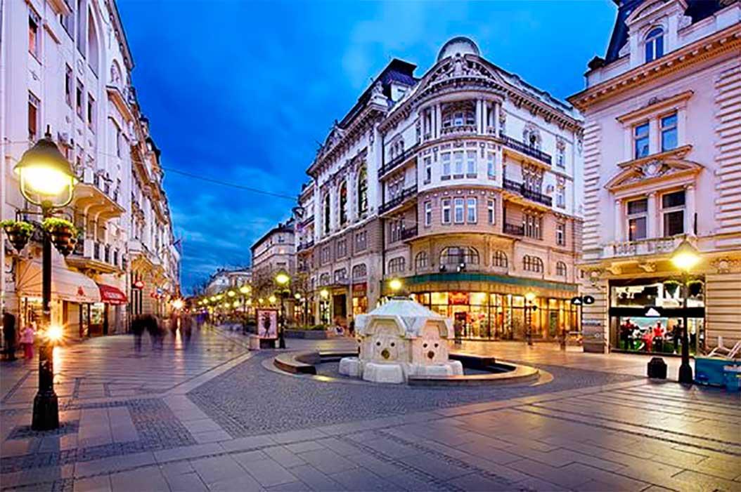 Knez Mihailova Caddesi - Belgrad