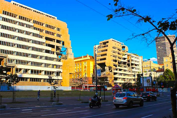 Nato kalintilari Belgrad