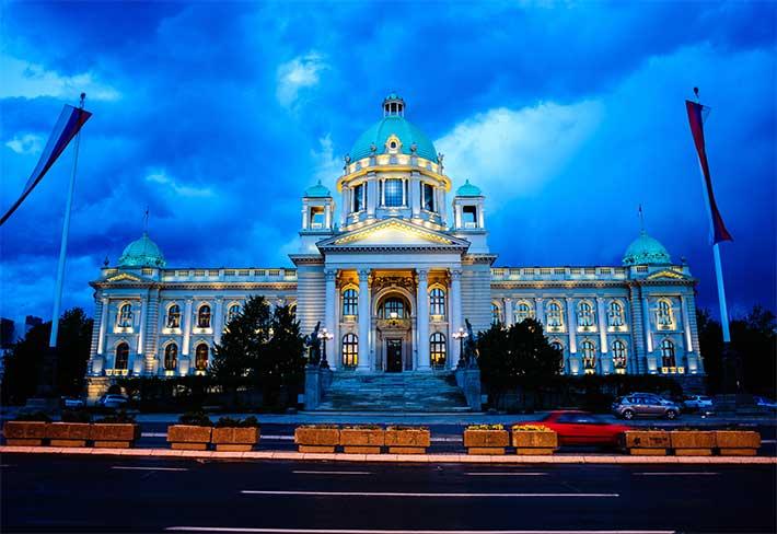 Parlamento Binası Sırbistan