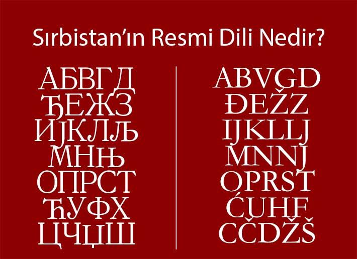 Sırbistan, Belgrad resmi dili
